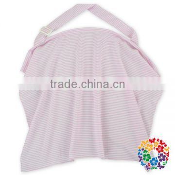 pink grid baby nursing cover for breastfeeding