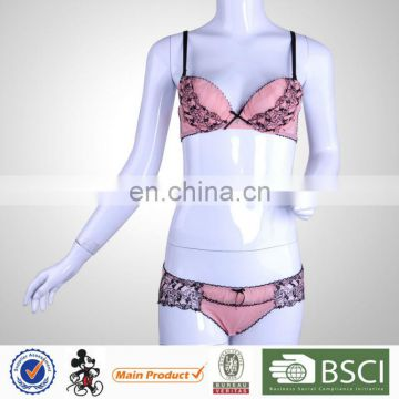 Fashion Hot Sale Underwired Lace Sexy Ladies Bra For Bigger