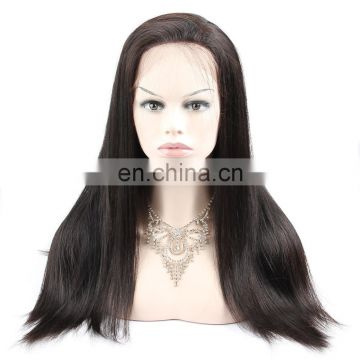 brazilian human hair 360 lace front wig making sewing machine 613 wig samples