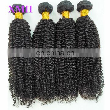 Factory wholesale kinky curly malaysian virgin remy human hair weave extension wholesale