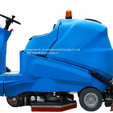 SC180 Ride on Scrubber
