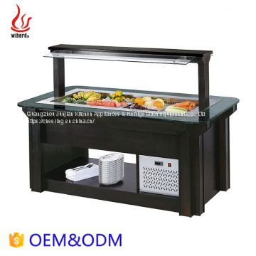 Catering Equipment Counter-Top Marble Salad bar refrigeration