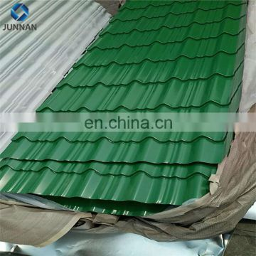 China factory FRP material corrugated plastic roofing sheets for greenhouse