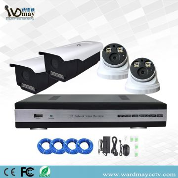 4chs 5.0MP Full Color in Day & Night Network Poe IP Camera Systems