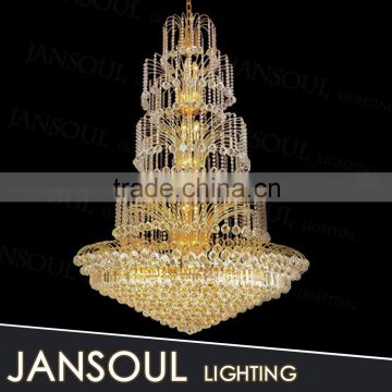 low price modern italian design fabric big drum shade pendant light k9 crystal beads for chandelier