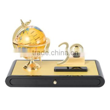 Vip Personalized 30 Years Anniversary Company Souvenir Gifts With Globe