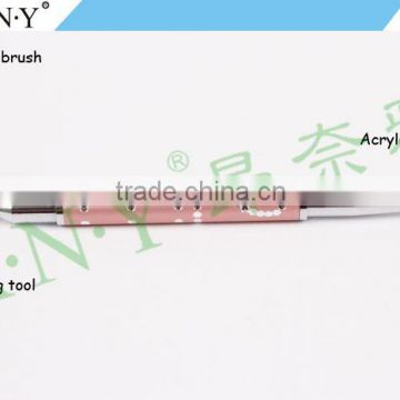 ANY Nail Accessories Design 3D Sculpture Plus Dotting Pen Double Sided Nail Brush