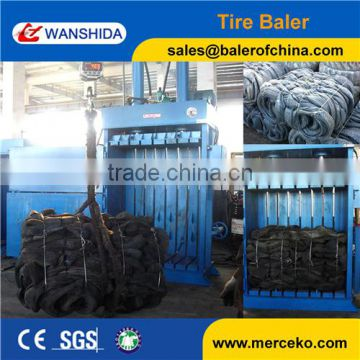New Condition and Automatic Y82-100 waste Tire baler machine(factory and supplier)