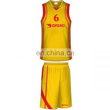 OEM quick dry team basketball jersey manufacturer