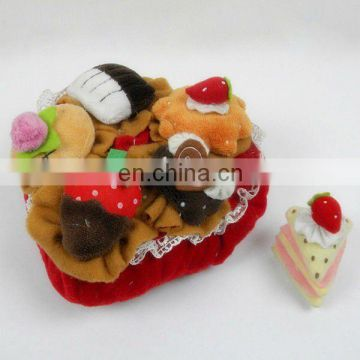 plush birthday cake toy decoration