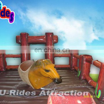 New Horse Simulator Inflatable Mechanical Rodeo Bull Rides Games Price For Park