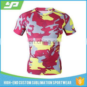 72d25596052 Training Wear polyester spandex mens compression shirts gym wear  sublimation printed custom rash guard of Compression Wear from China  Suppliers - 157936246