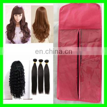 hair stylist scissor bag/self adhesive hair extension bags/hair packaging mesh bags