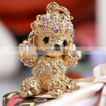 FASHION&CUTE POODLE DOG HORSE MOBILEPHONE STRAP/CHARM PROMOTION GIFTS