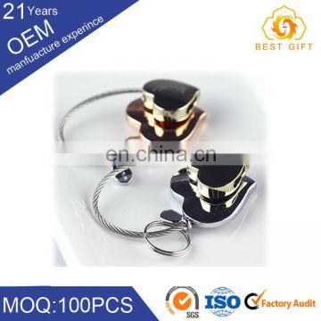 wholesale factory direct price bungee cord key chain