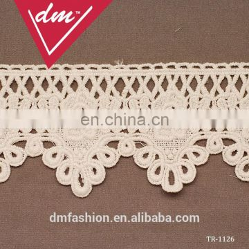 Wonderful White flower embroidery lace trim