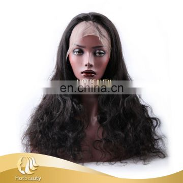 Prompt Delivery in 24 Hours, Top Quality Brazilian Human Hair Virgin Full Lace Wig