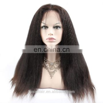 hot selling 360 lace frontal wig cap human hair wig making sewing machine
