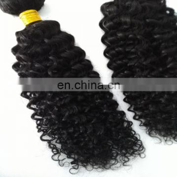 Natural human hair extension factory fast delivery top quality curly malaysian hair weave