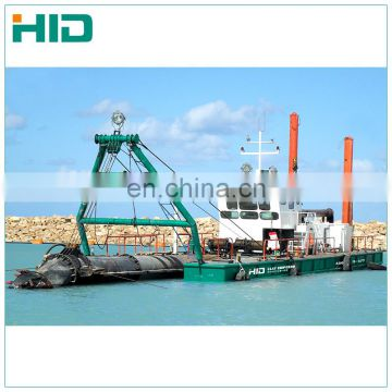 Mini low price river sand suction dredger