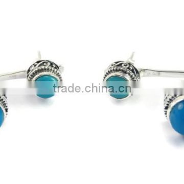 Sterling Silver Gemstone Earing