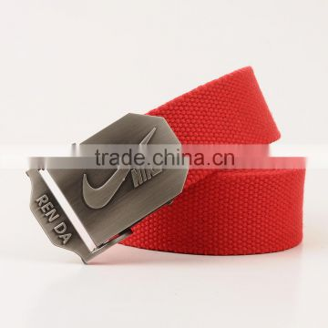 Adjustable slimming belts, red belt with customized logo buckle, free custom design made buckle