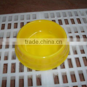 plastic pet food bowl