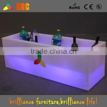 China Wholesale Popular Led Flashing Ice Bucket led beer bucket for party