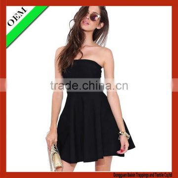 2015 new style black dress,grils'dress, sexy dress