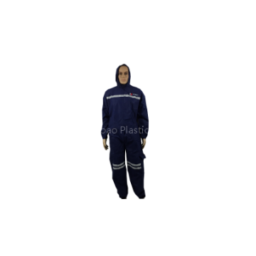 Disposable polypropylene protective coveralls and clothing