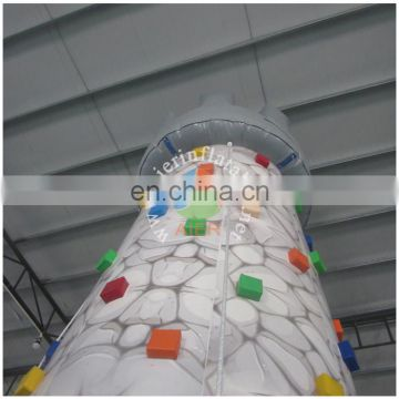 Aier factory big outdoor rock climbing,inflatable sport game for sale