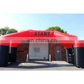 commercial inflatable entrance arch tent start line arch for sale