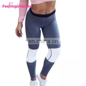Wholesale Womens Elastic Waistband Sexy Running Fitness Leggings Yoga Pants