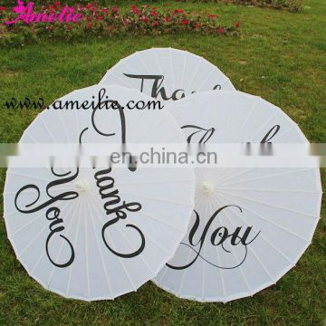 A03102a Thank you printing wedding umbrella