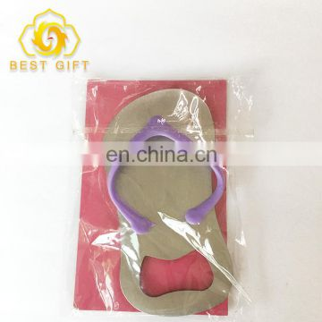 Fashion New Style Stainless Steel Custom Shape Bottle Opener With Card Packing