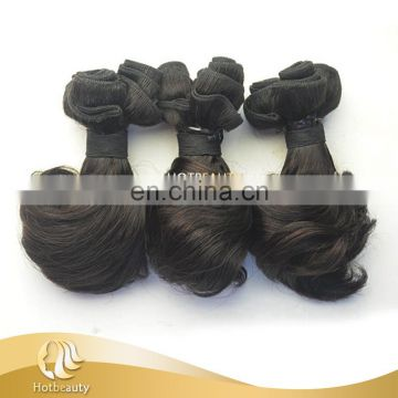 Hot Beauty Hair wholesale good quality cute funmi hair spring curl hair weaving