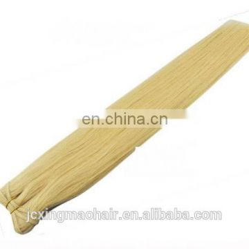 Excellent Quality All In Same Direction Low Price Cuticle Hair Weaving Remy Russian Blonde Hair Extensions