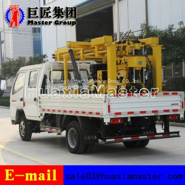 XYC-200 hydraulic vechicel type water well drilling rig