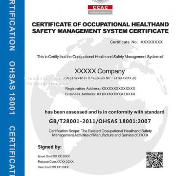 ISO9001, ISO14001, Management System Certification