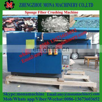 Factory directly supply textile recycling /used clothes crusher chopped machine with good feedback