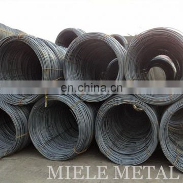 Cold drawn q235 mild steel wire rod high quality