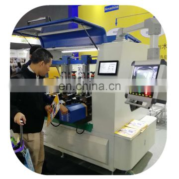 Thermal break crimping machine for aluminium profile
