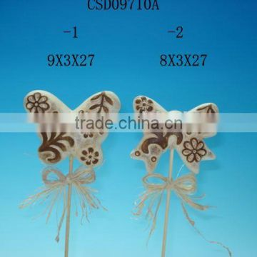 Ceramic butterfly with magnet on back side(souvenir,tourist,home decoration,arts & crafts)