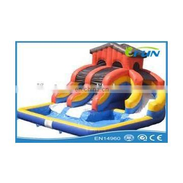 cheap inflatable pool slide / inflatable swimming pool slide / inflatable slide pool