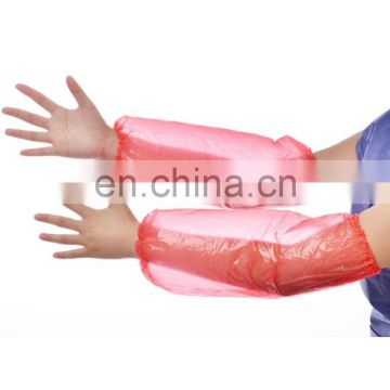 Xiantao factory manufactured high quality disposable arm cover pe material