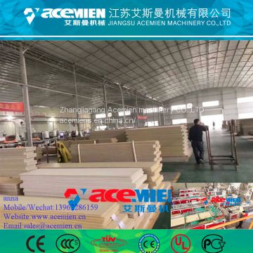 PVC Wall Panel Production Line / PVC Wall Panel Board Production Line Extruder Making Machine