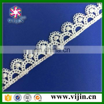 newest polyester african lace embroidery for wedding
