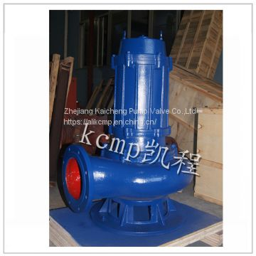 QW no clogging centrifugal submersible pump