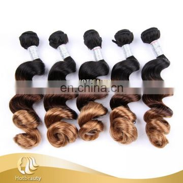 Cuticle aligned hair Best Selling Peruvian Virgin Hair Ombre Body Wave