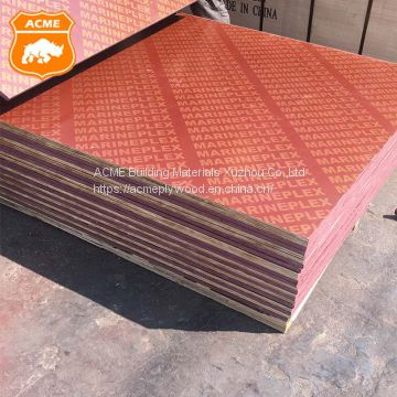 1250x2550mm Structural Plywood for Construction